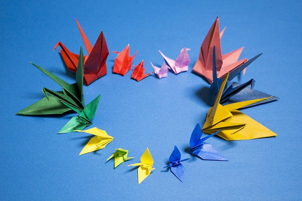 como hacer origamis