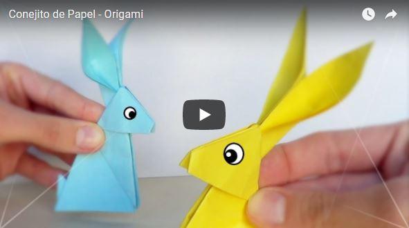 conejo origami