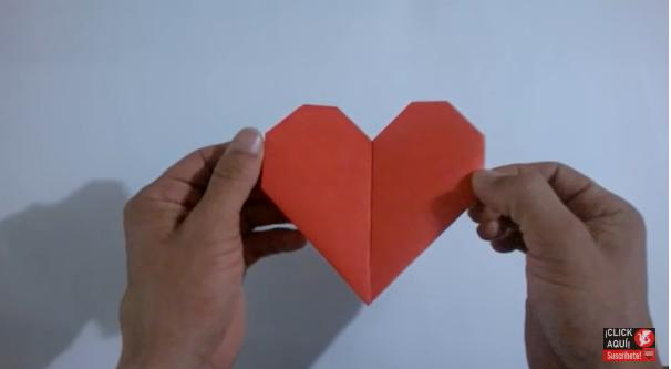 corazon de papiroflexia