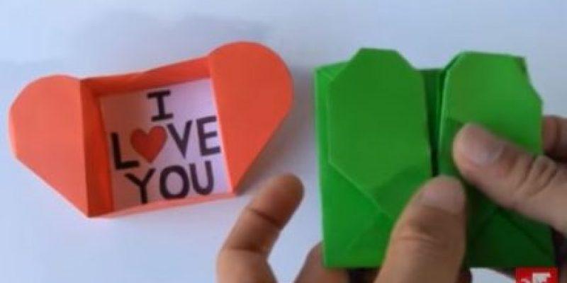 Corazón de Papel Origami