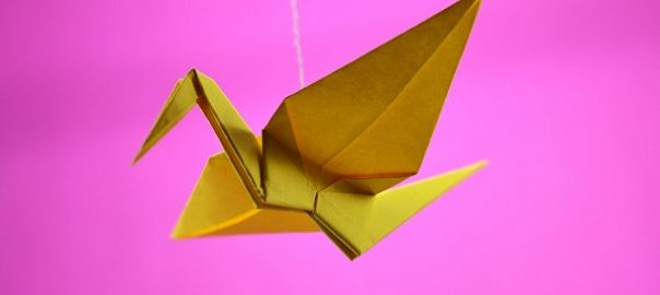 grulla japonesa origami