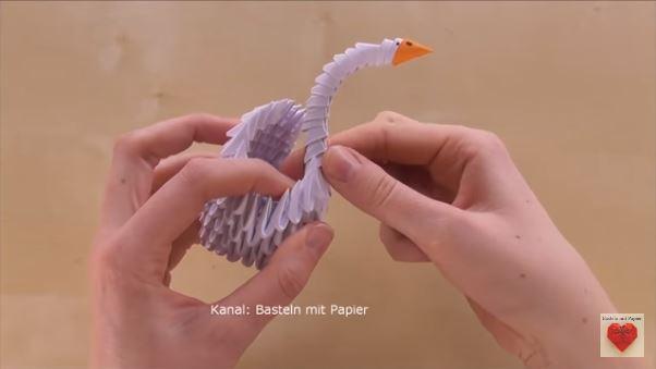 papiroflexia cisne