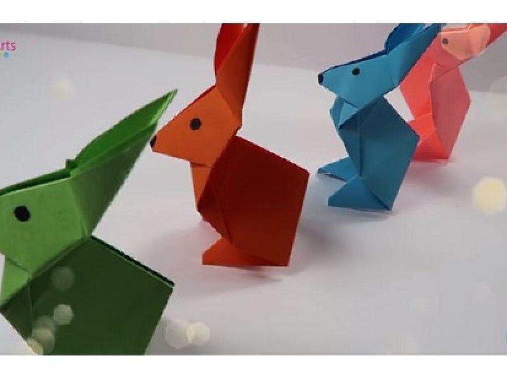 Conejo de Origami – Papiroflexia