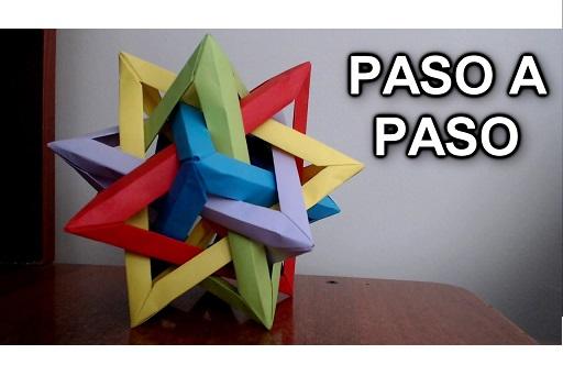 como hacer un tetraedro